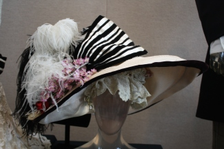 "Audrey Hepburn's hat from ""My Fair Lady"" designed by Cecil Beaton"