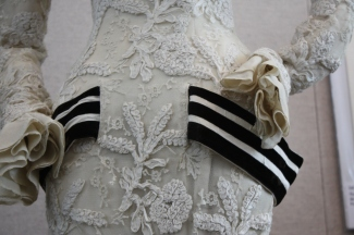 "Audrey Hepburn's dress detail from ""My Fair Lady"""