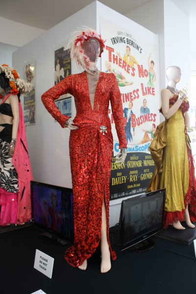 "Marilyn Monroe's dress from ""Gentleman Prefer Blondes"""