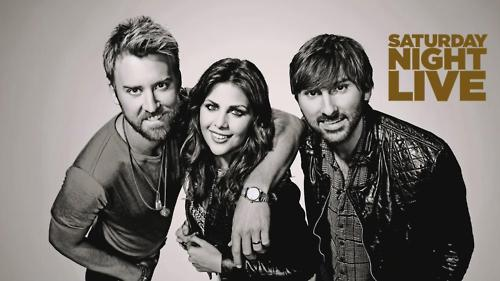 Lady Antebellum on SNL