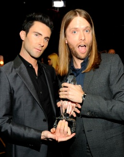Adam Levine & James Valentine from Maroon 5