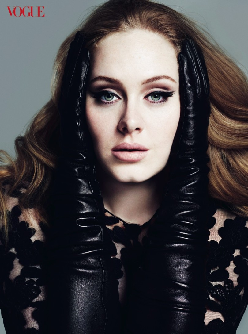 Adele Vogue March 2012