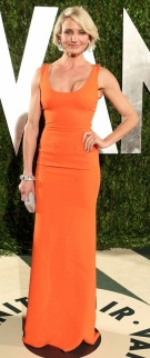 Cameron Diaz in Victoria Beckham- Vanity Fair Party