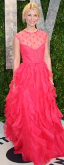 Claire Danes in Valentino - Best dressed at Vanity Fair!
