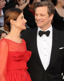 Colin Firth & Livia Giuggioli - love them!