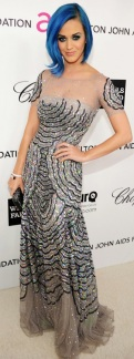 Katy Perry in Blumarine at the Elton John Party