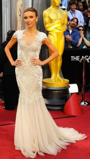 Giuliana Rancic in Tony Ward Couture