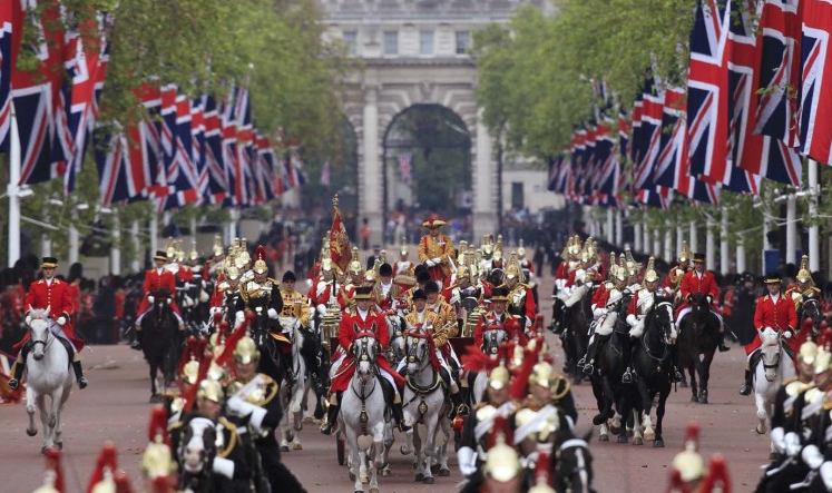 Jubilee Royal Carriage Procession along the Mall