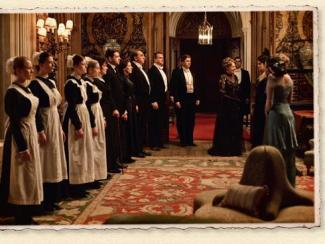 Downton Abbey main room