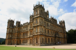 Highclere Castle aka Downton Abbey in England!