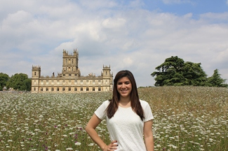 Behind Highclere Castle/Downton Abbey