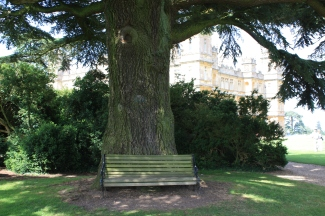 THE bench often seen in 'Downton Abbey'